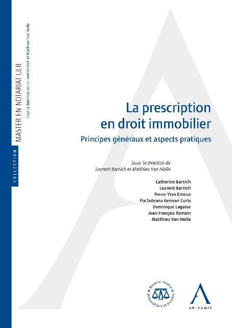 La prescription en droit immobilier