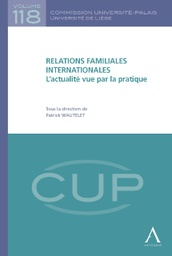 [CUP118] Relations familiales internationales