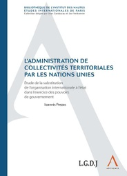 [ADCOL] L'administration de collectivités territoriales par les Nations unies
