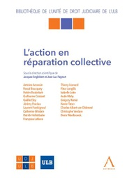 [REPACOL] L'action en réparation collective