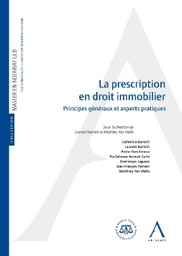 [PRESCRINOT] La prescription en droit immobilier