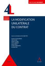[MODIFU] La modification unilatérale du contrat
